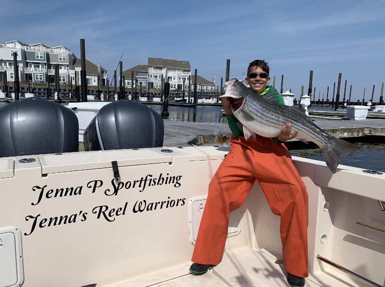 Jenna P Sportfishing sandy hook